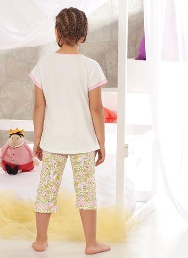 Zeyzey Pijama Takım Ekru
